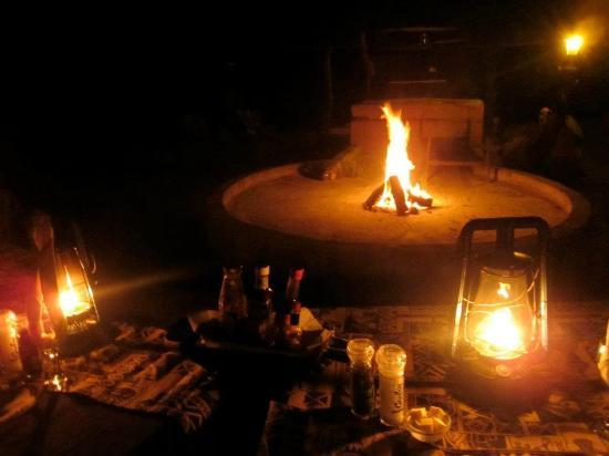 Royal Kruger Lodge: Our romantic, 4 course dinner under the stars...