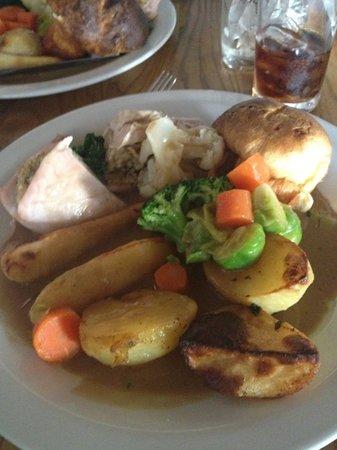 mmmmm Sunday roast at the fiery angel