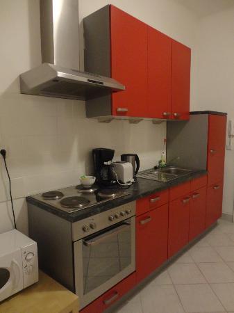 Park Apartments Wien: Küchenzeile