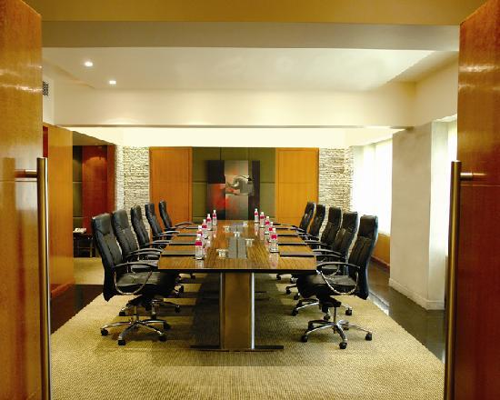 Hyatt Regency Delhi: The sophisticated and versatile meeting rooms and boardrooms feature a combination of function,