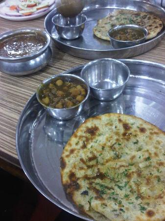 Bharawan Da Dhaba: Amritsari aloo kulcha, channa and dal