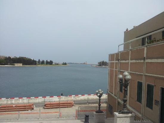 Malvasia Bed and Breakfast: view from Brindisi