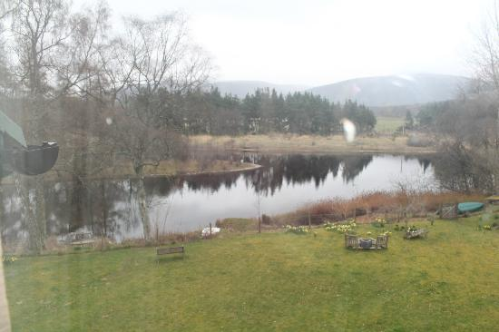 Braeriach Guest House: the view from the patio