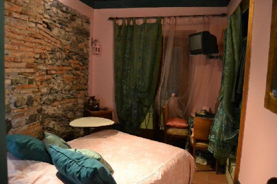 Bed and Breakfast Storico: Camera verde/rosa