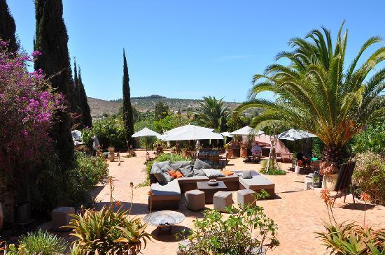 Le Jardin des Douars : Les terrasses
