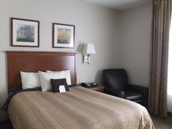 Candlewood Suites Santa Maria, CA: queen bed