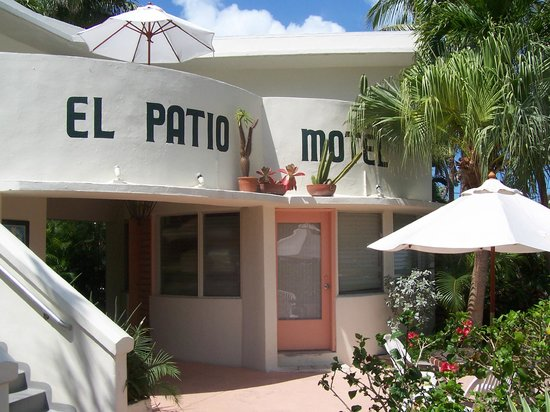 El Patio Motel: Front Of Hotel  El Patio Key West