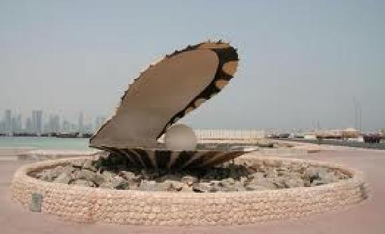 The Corniche : The Pearl Fountain