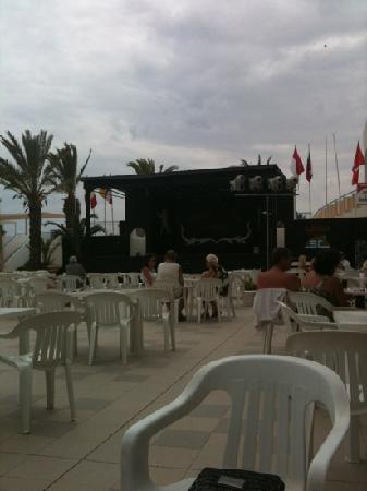 El Mouradi Club Selima: terrasse