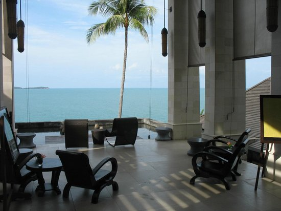 The Kala Samui : View of reception area
