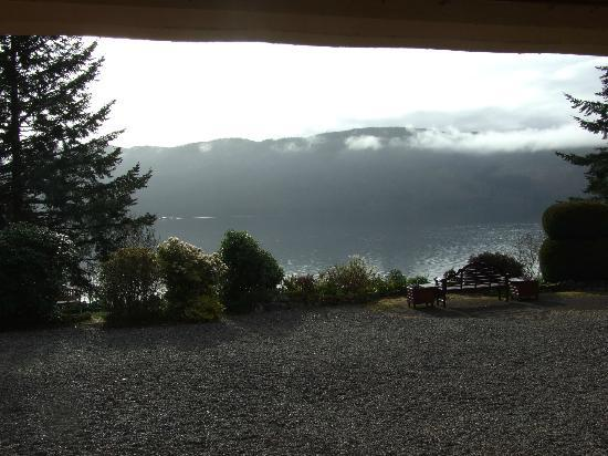 Tigh Na Bruach: Loch Ness from private terrace, morning