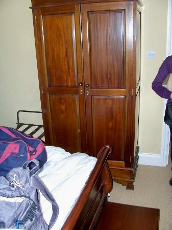 The Wellington Hotel: number 6 bedroom with a lethal wardrobe 12 inches from the bed