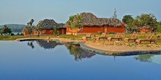 Orange County Resorts Kabini: Infinity Pool Deck