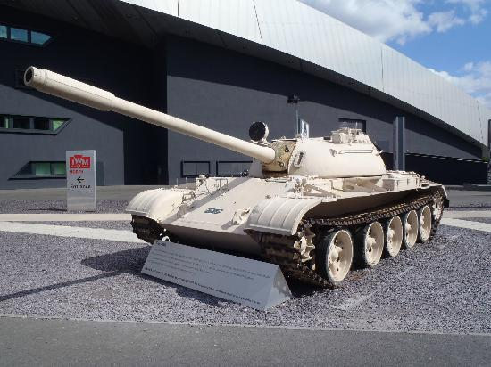 Imperial War Museum North: T55. IWM Manchester