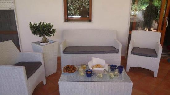 Magnolia House: l'angolo aperitivo
