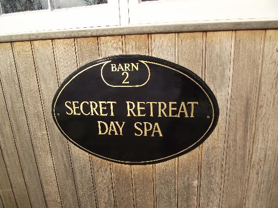 The Secret Retreat Day Spa: Welcome.