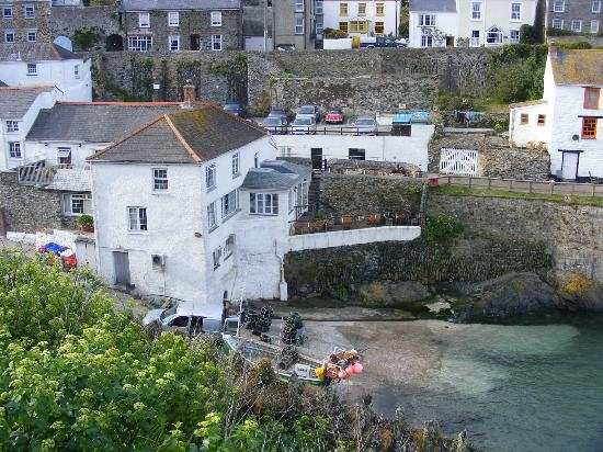 The Lugger Hotel: From West coast path