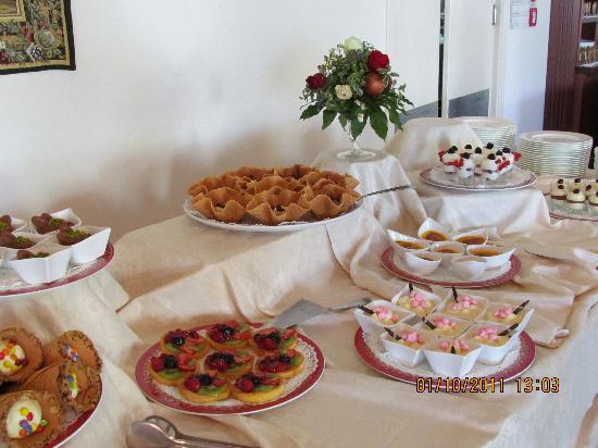 Grand Hotel Gallia: il buffet fantastico!!!!!!!!