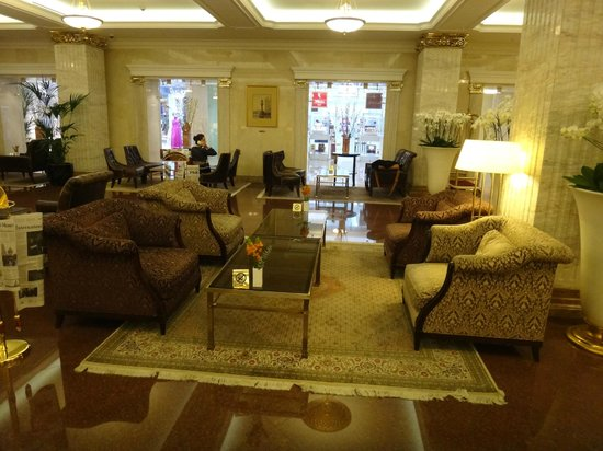 Radisson Royal Hotel Moscow: Reception area