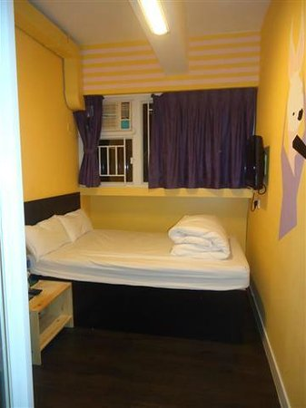 THe small Room nr 7 in Hop Inn Carnavon Road