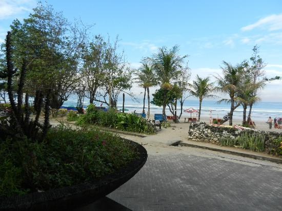 Puri Raja: View from Restaraunt