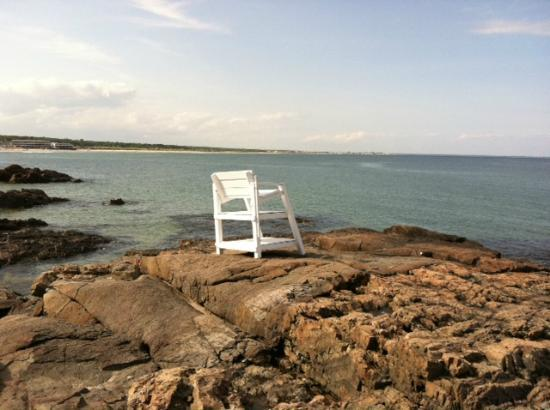 Lifeguard Chair On Marginal Way Picture Of Ogunquit