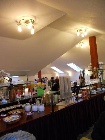 Hotel National: sala breakfast