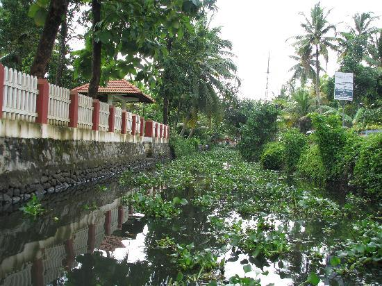 Coconut Creek Farm and Homestay Kumarakom: View of the homestay from the canal