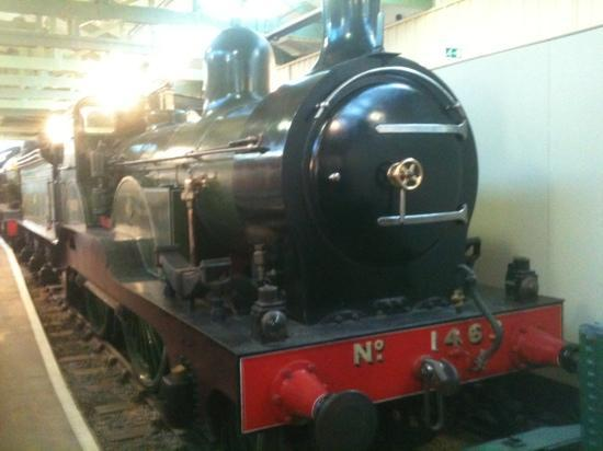 Darlington, UK: Victorian Express Locomotive