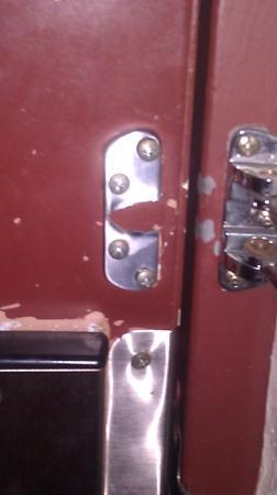 Red Roof Inn Ft. Pierce: Not Very Secure