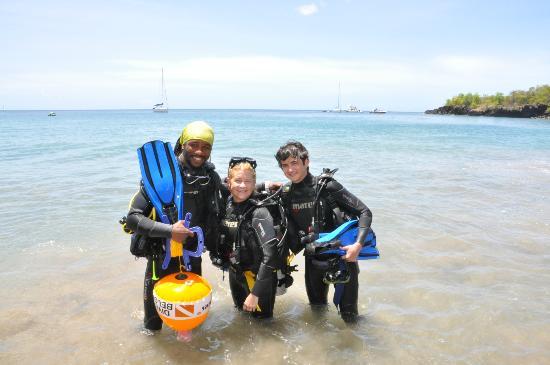 Island Divers: Lesta, our dive professional