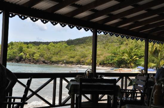 Island Divers: View from restaurant