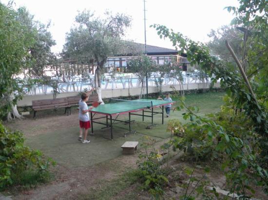 Kucukkuyu, Turchia: Havuz restauran'a karşı pinpon