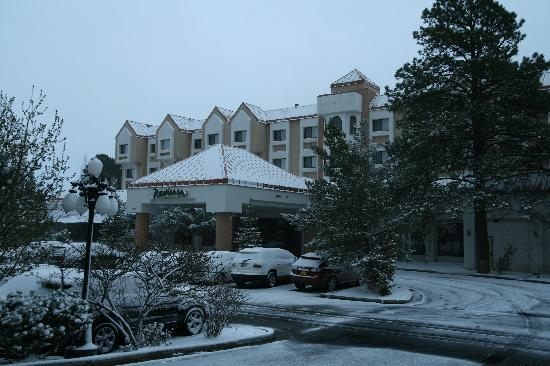 "DoubleTree by Hilton Hotel Flagstaff: Our ""winter"" wonderland in mid April"