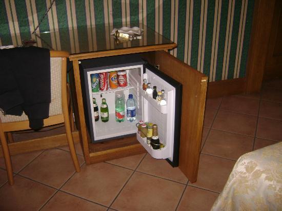 Hotel Leopardi Napoli: frigo bar
