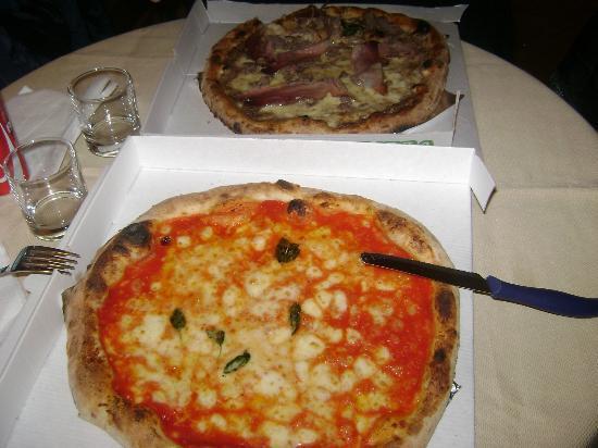Hotel Leopardi Napoli: pizze per cena