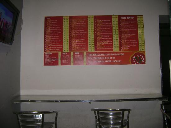 Hotel Leopardi Napoli: prezzi pizzeria