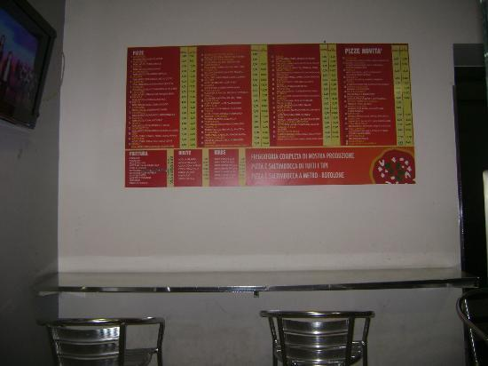 Hotel Leopardi: prezzi pizzeria