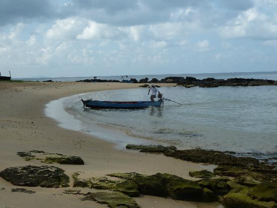 Mango Bay Resort: één van de zandstranden