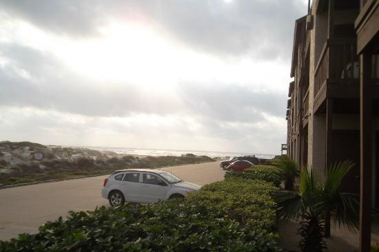 El Constante Beachfront Condominiums: Another view from outside the room