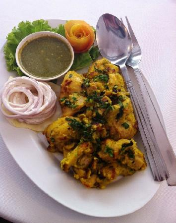 Indian Chaat: Chicken Malai Tikka