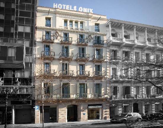 Onix Rambla Hotel: Fachada