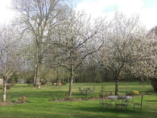 Domaine de Montizeau Moncay : jardin