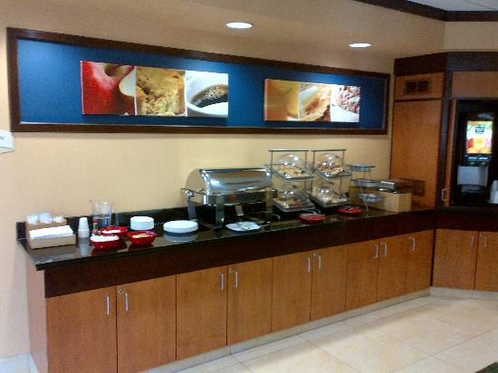 Fairfield Inn & Suites Millville Vineland : breakfast 2 of 4