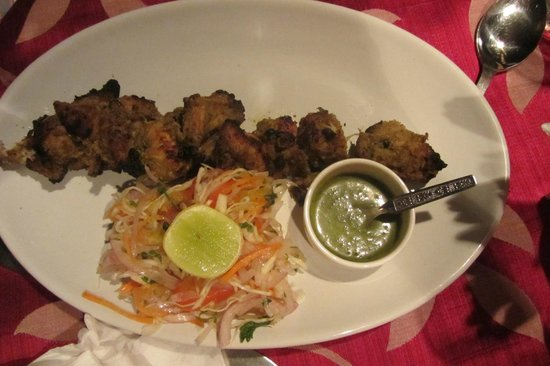 OCTIMA RESTAURANT + BAR:                                     Chicken Kebab