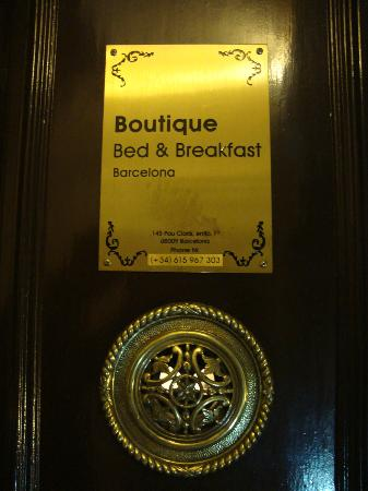 Boutique Bed and Breakfast: Enter