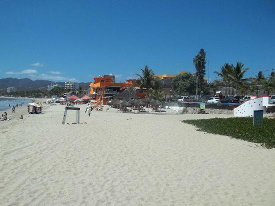 The Bucerias Art Walk : Bucerias Beach - looking towards La Cruz