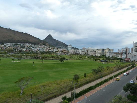 Mouille Point Village: Lions head from room