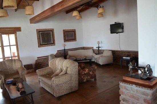 Casa Hacienda Nasca Oasis: Lounge area