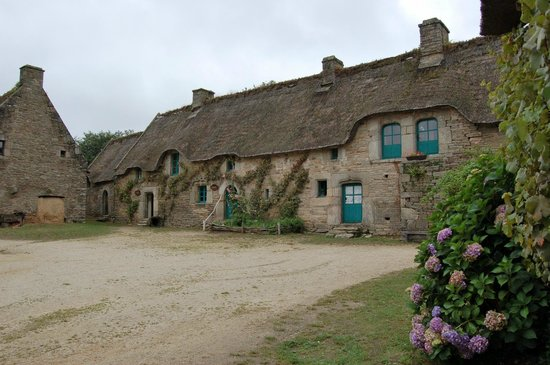"""Quistinic, Frankrig: Poul Fetan, la ferme de la famille la plus """"aisée""""."""